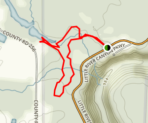 Beaver Pond Trail Map
