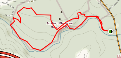 Austin T. Blakeslee Natural Area (Highland Trail) Map