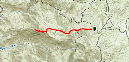 Eagle Peak Trail Map