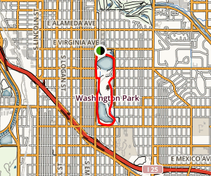 Washington Park Loop Map