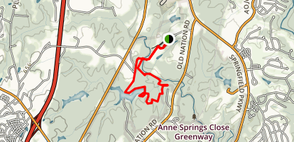 Springfield Trail  Map