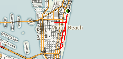 Miami Beach Art Deco District Map