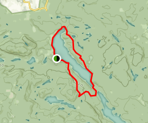 Outaouais (Ottawa Valley) Hiking Trails Map
