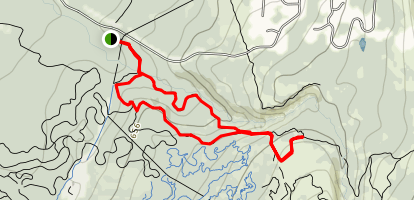 Campbell Gorge Hike Map