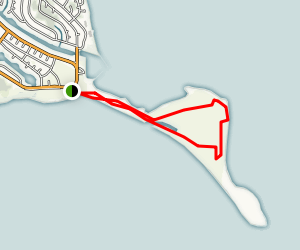 Damon Point State Park Trail Map