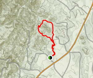 Aiken Canyon Loop Trail Map
