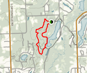 Lakeshore and Springlake Trails Map