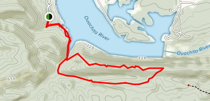 Dam Mountain Trail Map