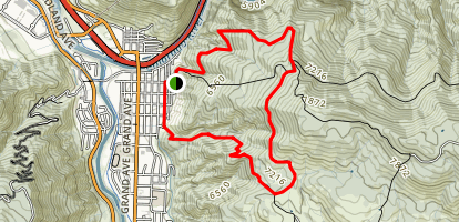 Boy Scout Trail Map