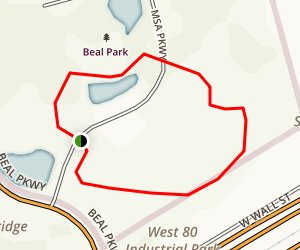 Beal Park  Map