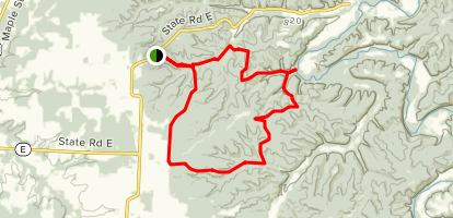 Lead Mine Conservation Area Map