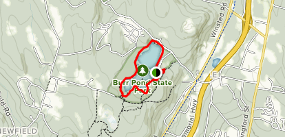 Burr Pond Map