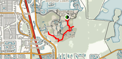 fgcu trails Map