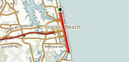 Virginia Beach Trail Map
