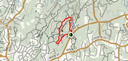 Rocky Woods Reservation Trail Map