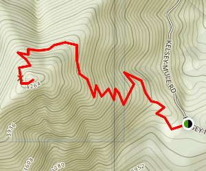 Mount Bolivar Map