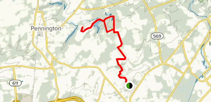 Lawrence Hopewell Trail Map