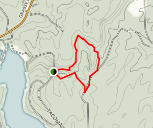 Rocky Bluff Trail Map
