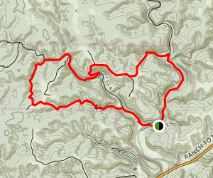 Lost Maples Extra Loop Trail Map