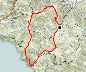 Coyote Ridge Loop Map
