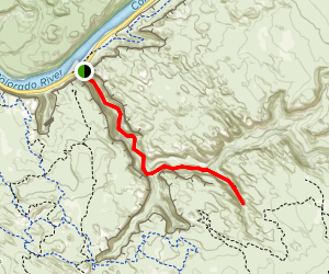 Grandstaff Trail Map