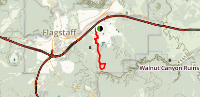 Arizona (Equestrian Bypass) Trail Map