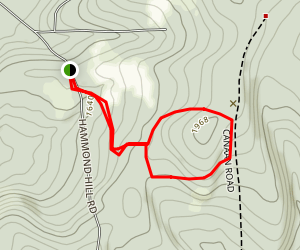 Hammond Hill Trail Map