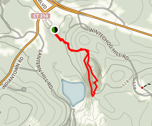 Lantern Hill Trail Map