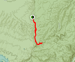Lower Soldier Camp Trail Map