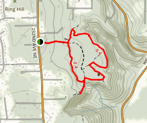 Ring Hill Forest Trail System Map