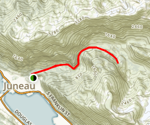 Perseverance Trail Map