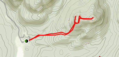 Chimney Mountain Trail Map