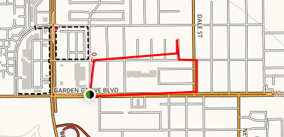Hoover Street Trail  Map