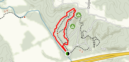 Loutre River Trail Map