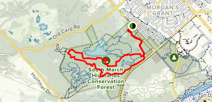 Southmarch Trail Map