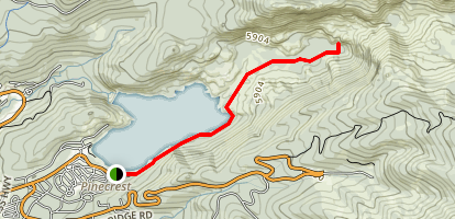 Gooseberry Trail Map