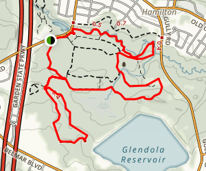 Shark River Park Trails Map