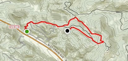 Pole Hill Map
