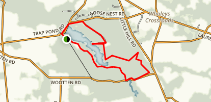Trap Pond State Park Loop Map