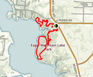 Eagle Mountain Lake Park Trail Map