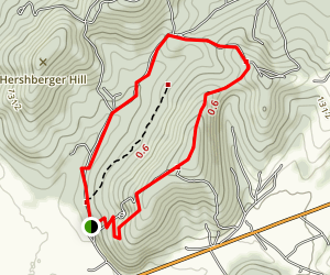 Shenandoah Woods Loop [PRIVATE PROPERTY] Map