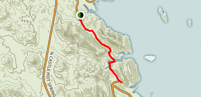 Pipeline Canyon Trail - Lake Pleasant Map