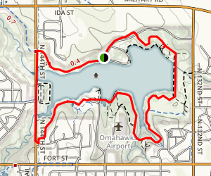 Standing Bear Lake Park Map
