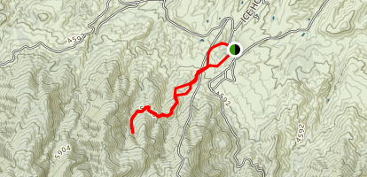Icehouse Canyon Map