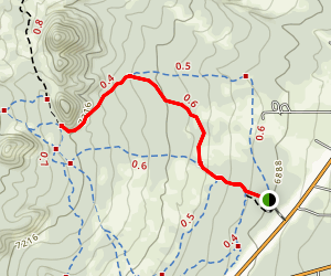 Sandy Seep Trail Map