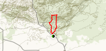 Fossil Canyon Drive Map