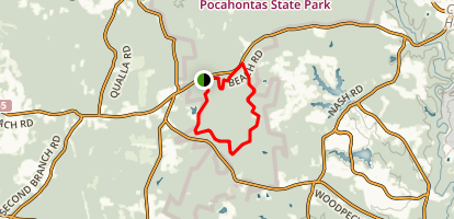 Bright Hope Trail Map