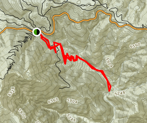 Vincent's Gulch Map