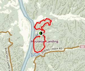 Eagle Point Overnight Trail Map
