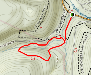 Double Run Trail Map